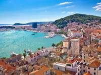 Oraș împărțit în Croația