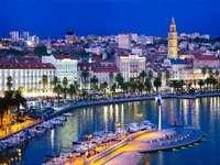 Σπλιτ πόλης στην Κροατία