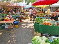 Split Gemüsemarkt Kroatien