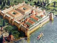 Split model paleis van Diocletianus Kroatië