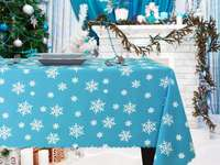 tablecloth with stars