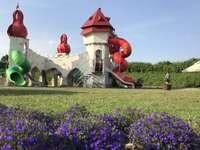jardins mágicos em Janowiec
