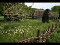 un sat polonez în trecut