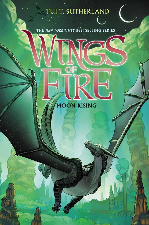 Luna răsărind - Este o carte de aripi de foc (7×12)
