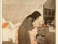synáčku nemocný uvařím ti čaj