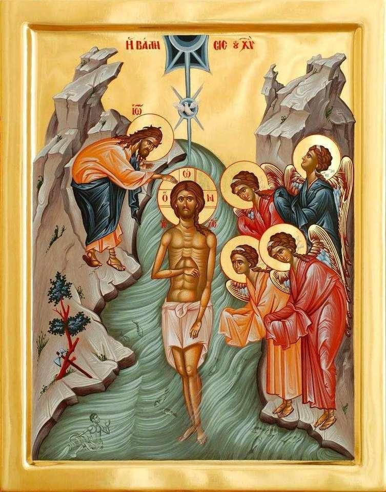 Boże chrzciny - Chrzest Pana Jezusa Chrystusa (3×4)