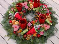 garland for candles