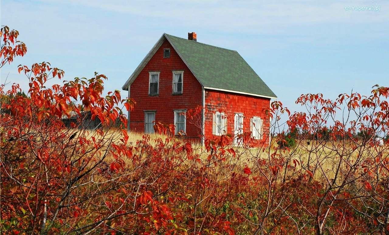 červený dům - m (13×8)