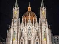 Базилика на Кастелпетросо Молизе Изерния Италия