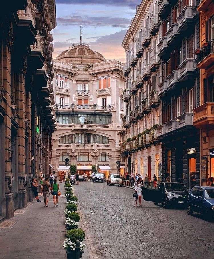 Via dei Mille Νάπολη Ιταλία