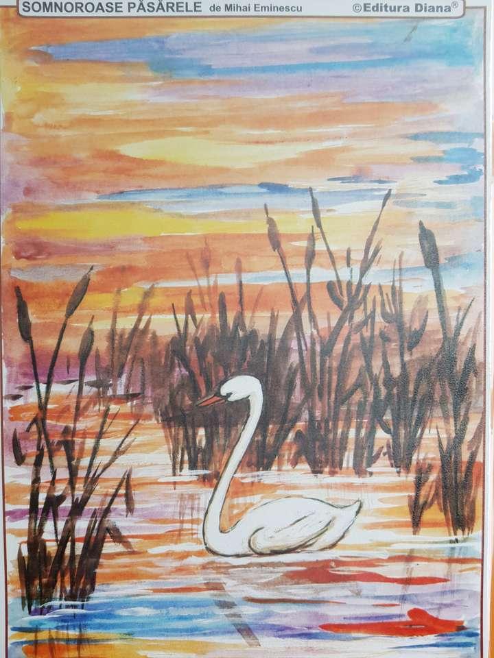 Сънливи птици - Лебедът в поезията на Еминеску (3×4)