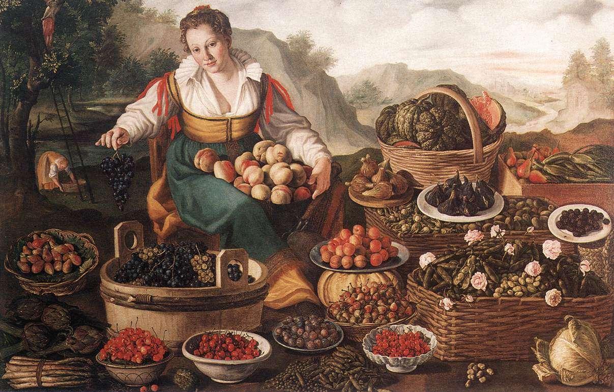 vincenzo campi. sprzedawca owoców
