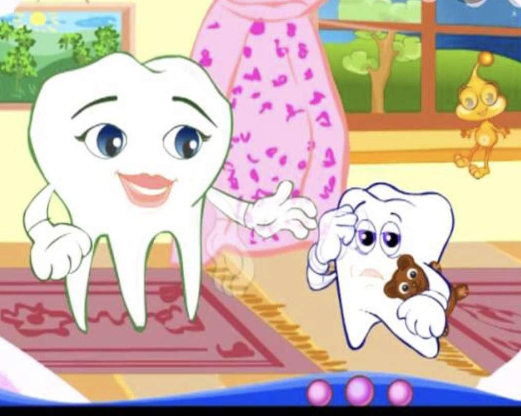 Gesunde Zähne - Gesunde Ernährung - schöne und saubere Zähne (3×3)