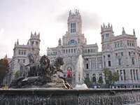 Fontaine de Cibeles, Madrid