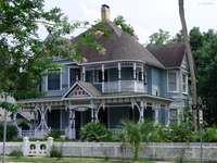 viktorianskt hus i florida