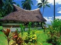 Haus in den Tropen