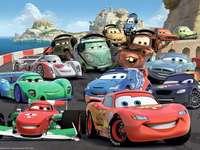 kleurrijke autootjes