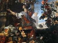C. Berentz a Carlo Maratta, Květiny a ovoce