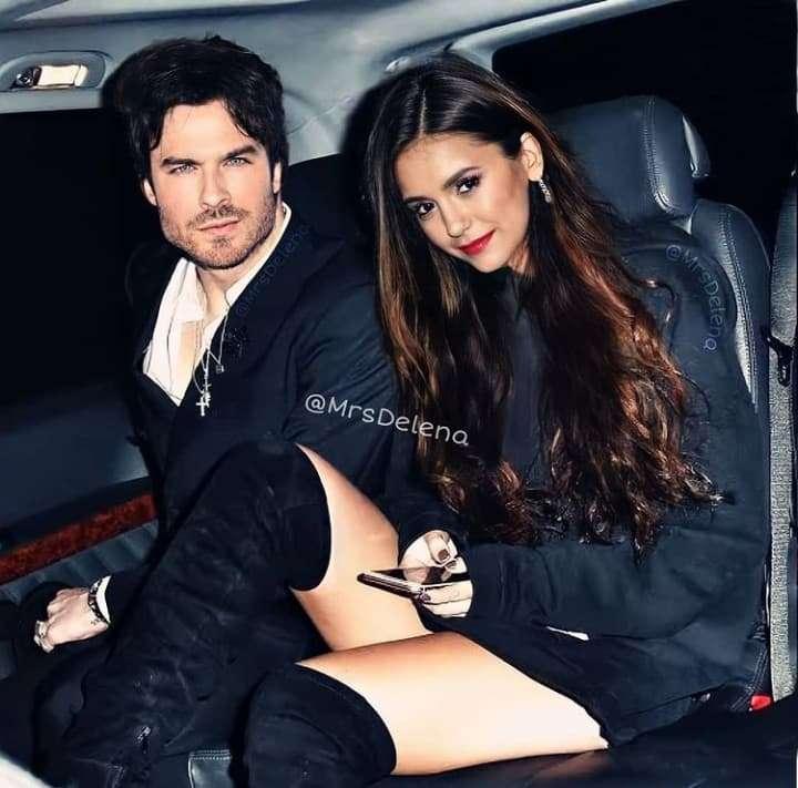 Damon and Elena - Damon and Elena from The Vampire Diaries series (2×2)