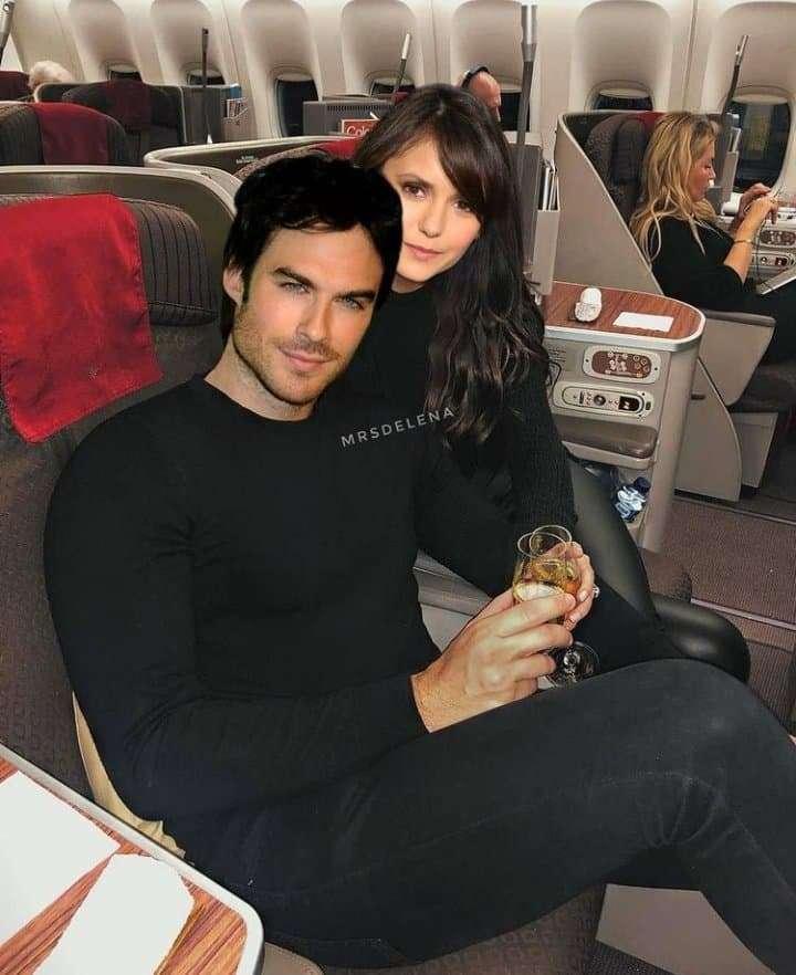 Damon and Elena - Damon and Elena from The Vampire Diaries series (2×3)