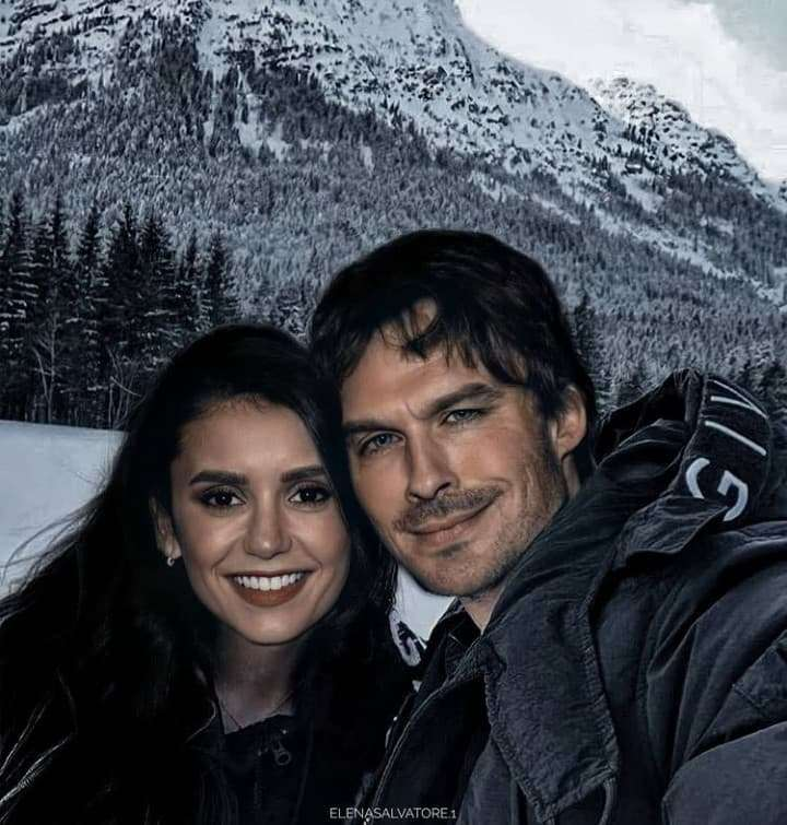 Damon y Elena - Damon y Elena de la serie The Vampire Diaries (2×3)