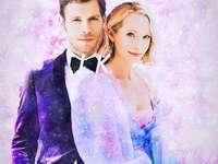 Caroline i Klaus