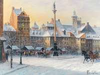 slottstorget i Warszawa