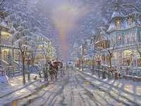 vista de invierno