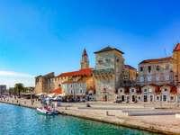 Trogir stad i Kroatien