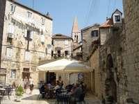 Ciudad de Trogir en Croacia