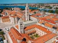 Zadar město v Chorvatsku