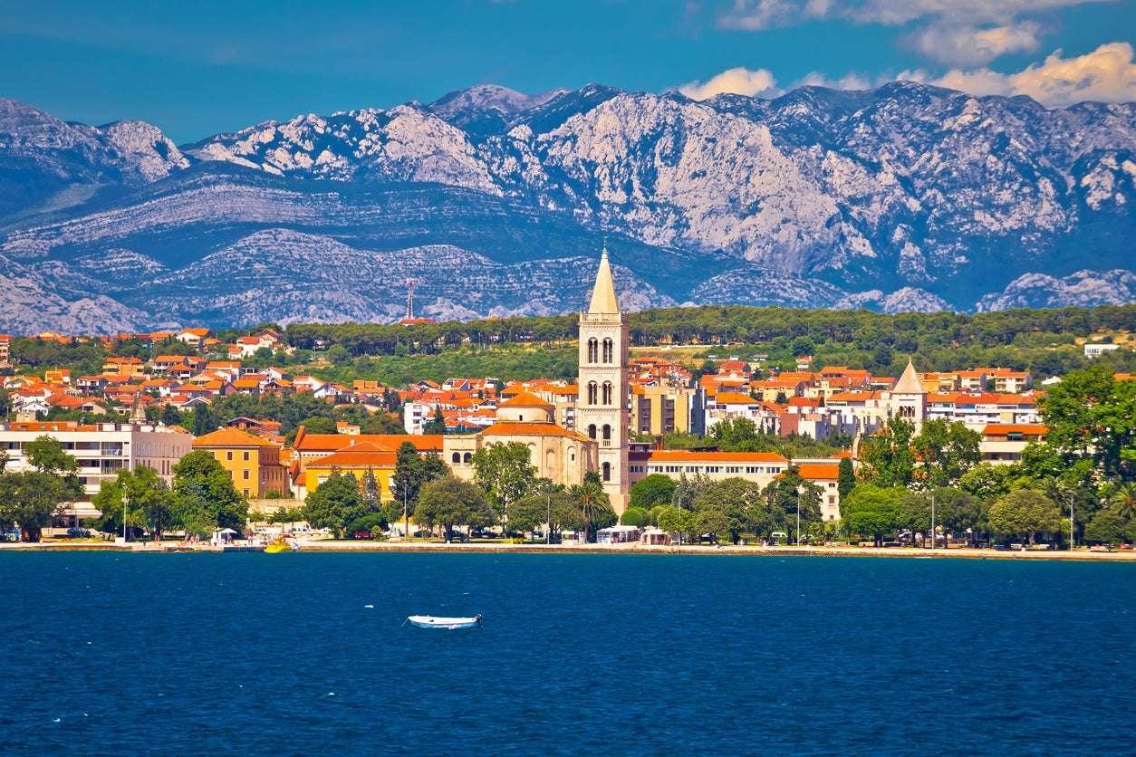 Ciudad de Zadar en Croacia (16×11)