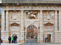 Porte du Lion de Zadar Croatie