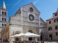 Zadar Kathedraal Kerk van St. Anastasia Kroatië