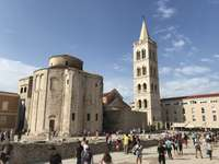 Zadar stad i Kroatien