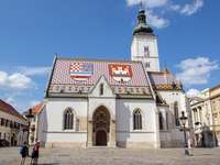 Πρωτεύουσα της Κροατίας Εκκλησία του Αγίου Μάρκου