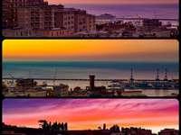 Kilátás a Via Napoli, Genova városából