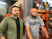 """Mariusz Ryniewicz a Marcin """"Beton"""" Dolny"""
