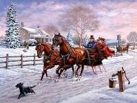 invierno en pintura