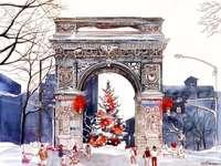 composição de inverno