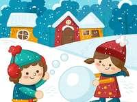 Hrajeme si se sněhem