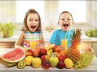 Happy and healthy children