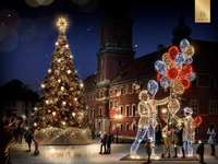 ljus dekorationer i Warszawa