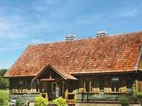 uma casa de campo em Podlasie