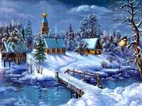 зимна картина
