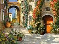 gata i Italien