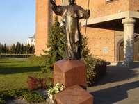 Pomnik Jana Pawła II w Lesznie