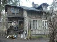 стара дървена къща