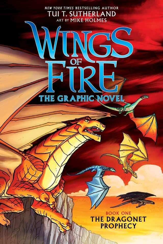 Romanul grafic profeția dragonetului - Dragons English Book (8×12)
