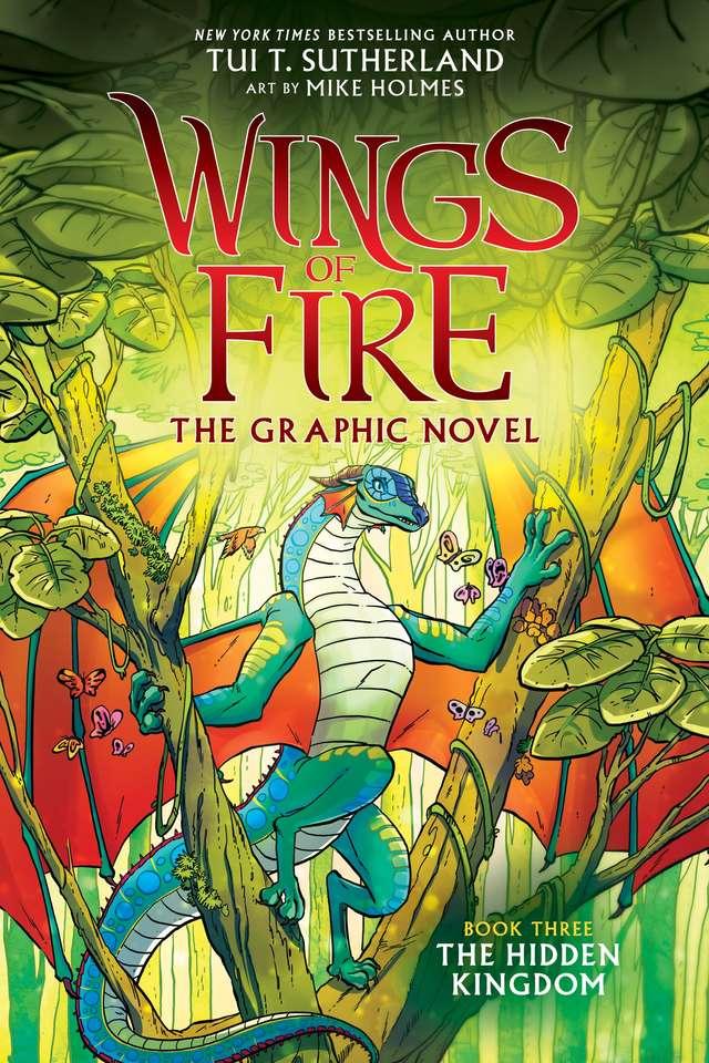 O reino escondido - Um Livro Inglês dos Dragões (8×12)